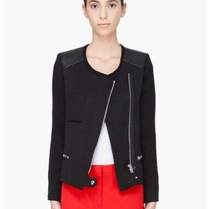iro phoebe jacket black size 0 J1